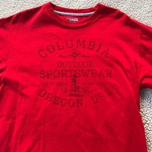 Columbia Men's Short Sleeve T-Shirt, medium